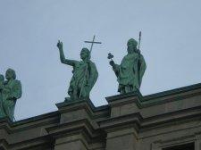 Réelle statue de Saint Patrick
