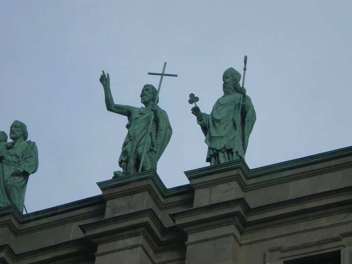 Statue St Patrick