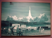 Peintures de fusée