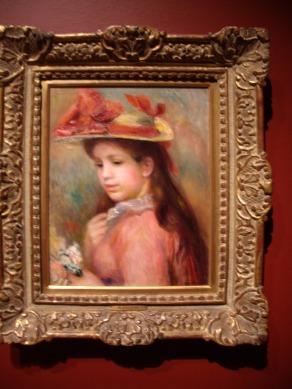 Auguste Renoir, Jeune fille au chapeau