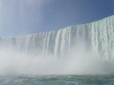 Chutes du Niagara en bateau