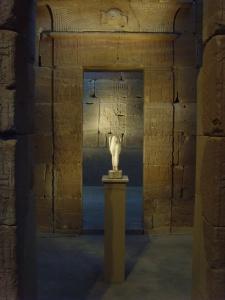 Statue dans le Temple de Dendur du Met