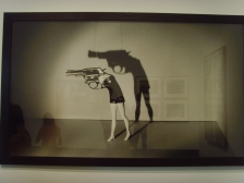 Walking Gun by Laurie Simmons