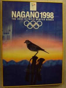 Affiche Jeux de Nagano 1998