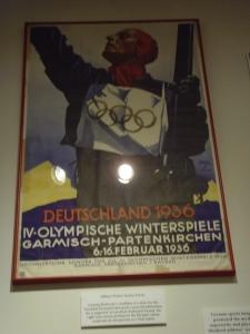 Affiche Jeux Nazis de Berlin 1936