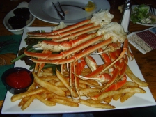 Snow Crab - Great Adirondack Steak & Seafood