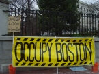 Occupy Boston at the Massachusetts State House