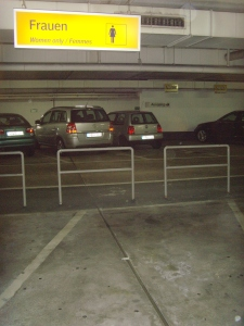 Parking für Frauen
