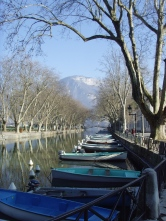 Barques lac Annecy