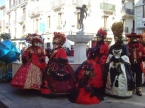 Fontaine et carnaval de Venise à Aix-les-Bains