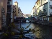 Marché canaux d'Annecy