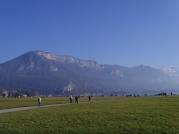 Paysage lac d'Annecy