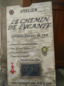 Chemin de Lycante Chauvigny