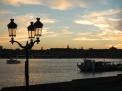 Coucher de soleil quais Bordeaux