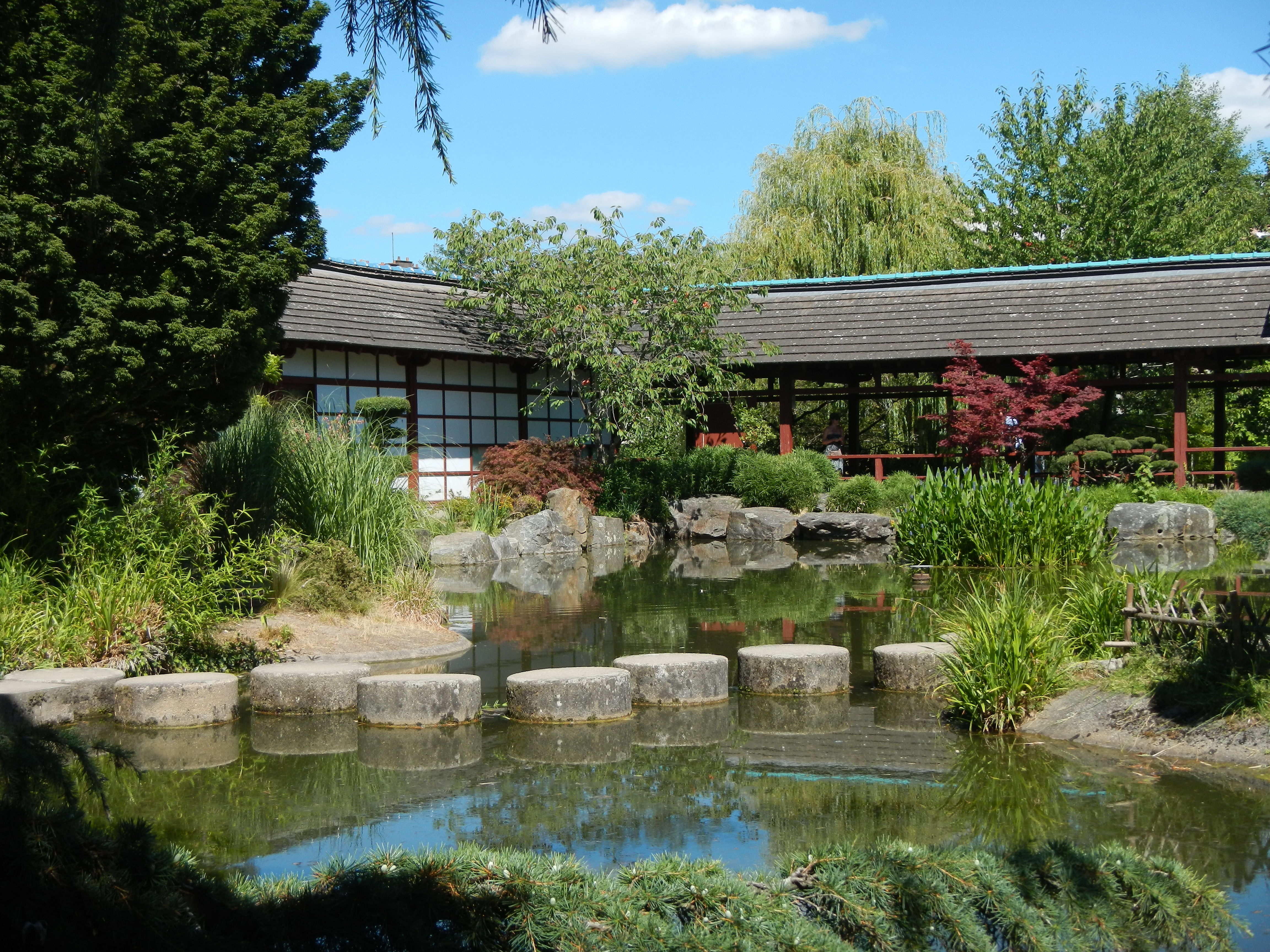 jardin japonais zen maison erdre ile de versailles nantes voyage de vie. Black Bedroom Furniture Sets. Home Design Ideas