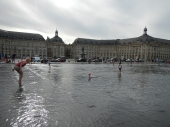 Miroir d'eau quais Bourse Bordeaux