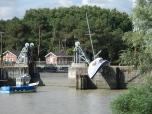Oeuvre bateau Estuaire Voyage à Nantes