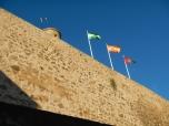 Drapeaux Castillo Gibralfaro - Malaga