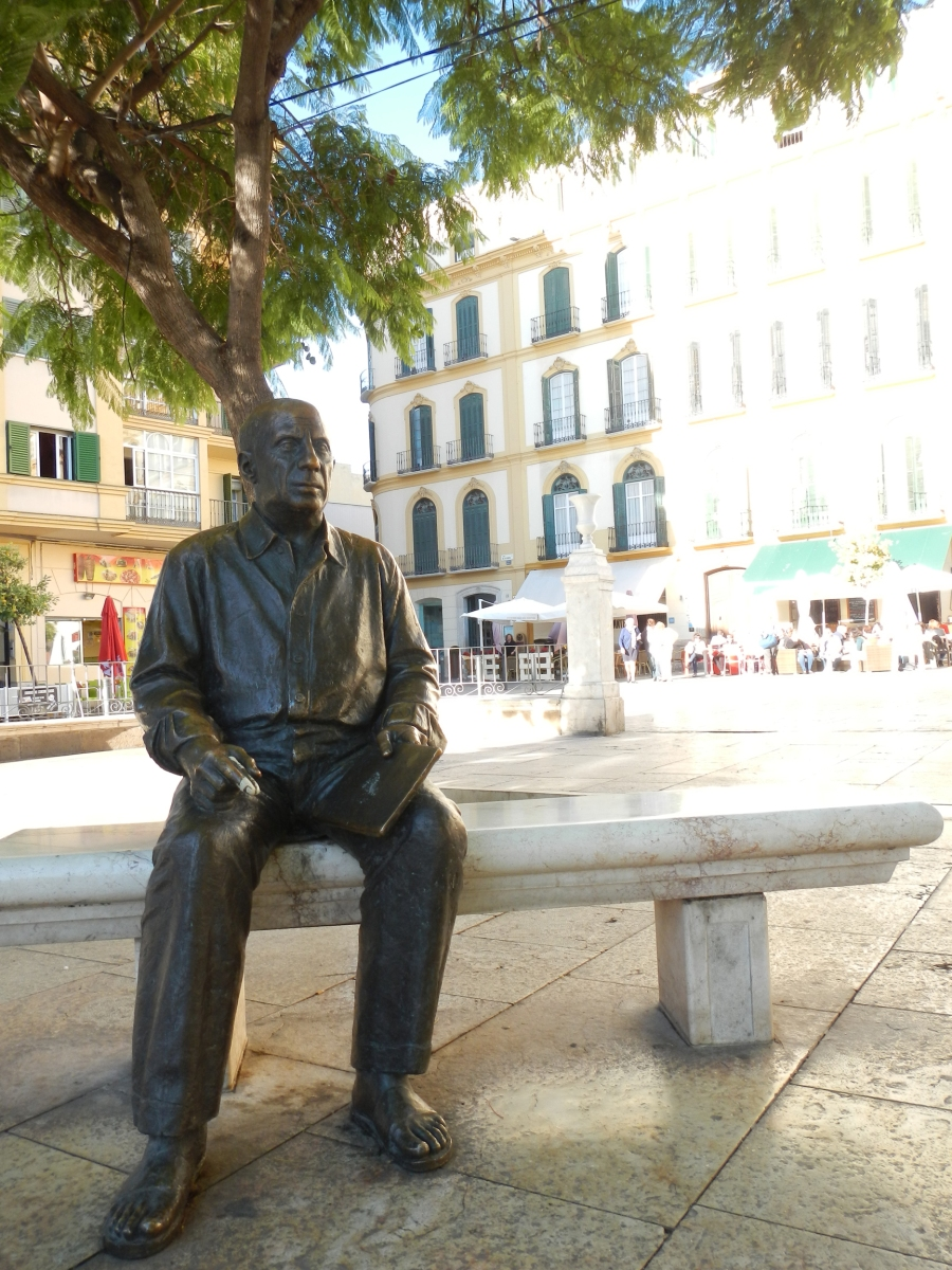 Pablo Picasso plaza Merced - Malaga