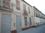 Rue condamnée à Malaga
