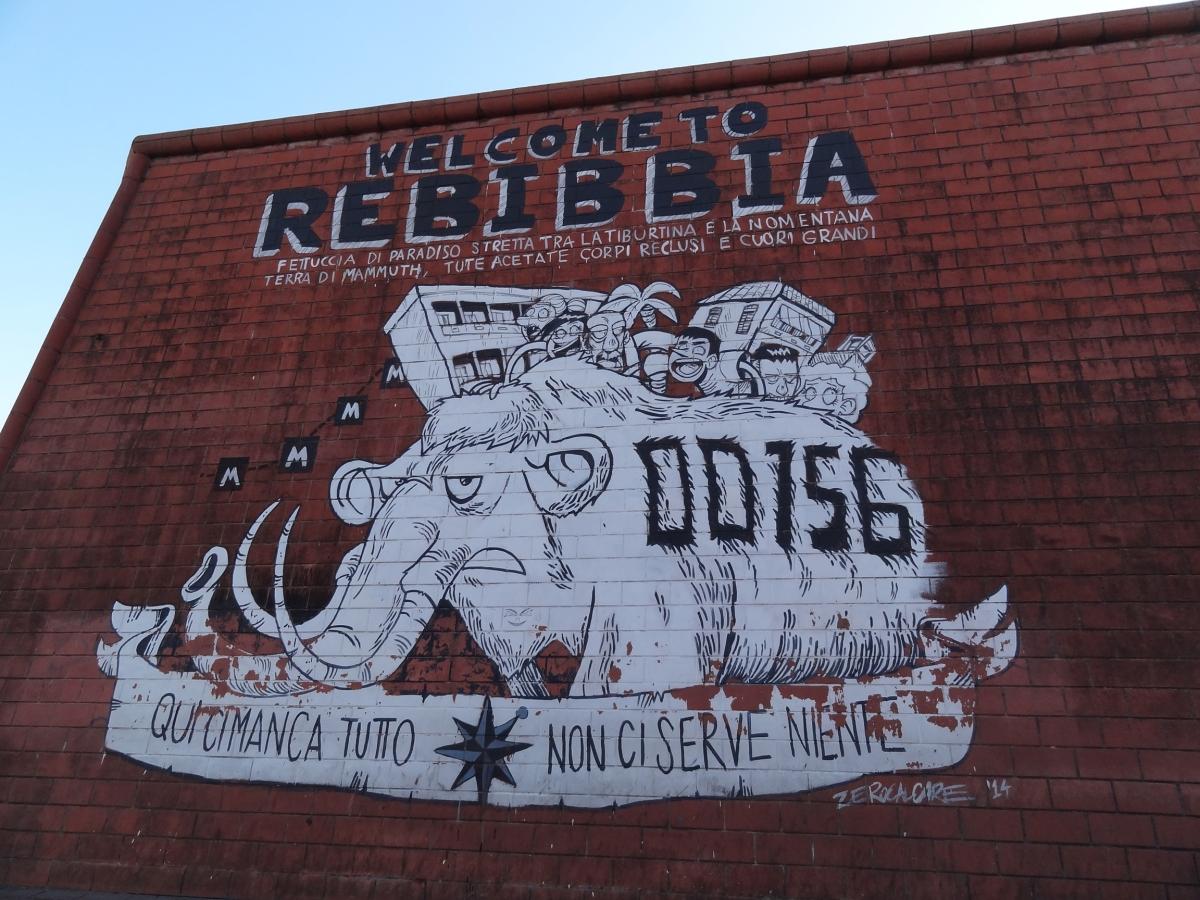 Welcome to Rebibbia