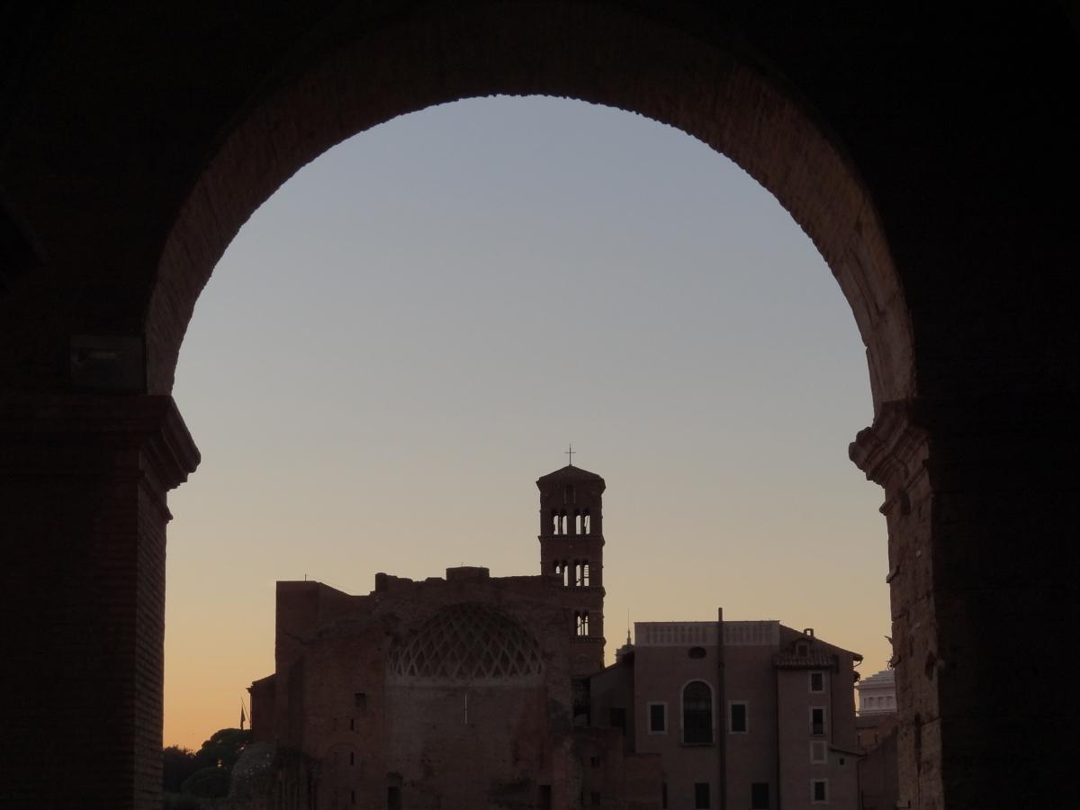 Vue dans le Colisée