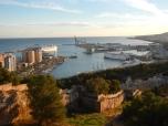 Vue de Malaga