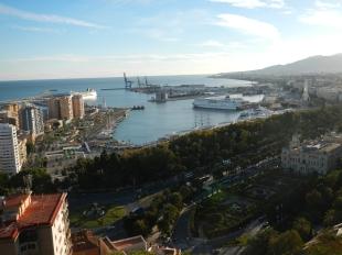 Vue panorama Malaga