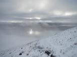 Mont Esja brume