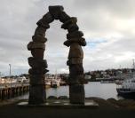 Monument port Hafnarfjordür