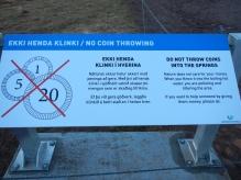 No pollution Geysir