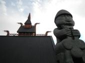 Viking Village Thor Statue