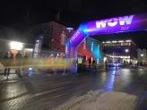 Course cycliste - Winter Lights Festival