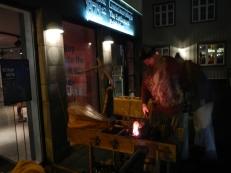 Winter Lights Festival Museum night farmer viking