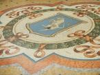 Mosaique taureau Galleria Vittorio Emanuele II