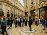 Porte-bonheur taureau Galleria Vittorio Emanuele II