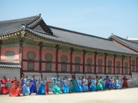 demonstration-garde-palais-gyeongbokgung