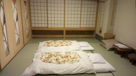 ryokan-futon-sounkyo