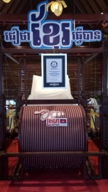 guiness-world-record-krama-phnom-penh