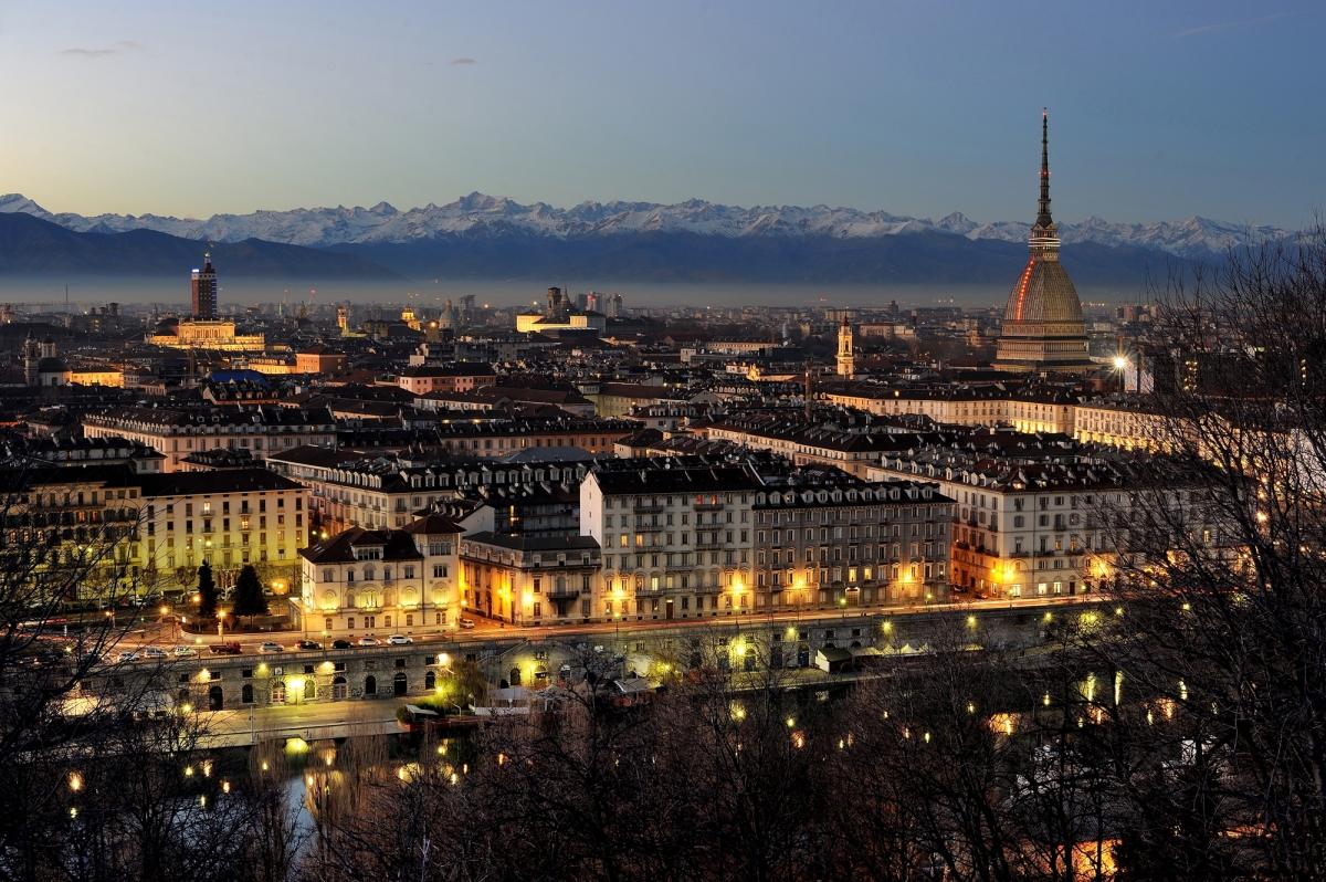 Vue de Turin du Monte Cappuccini © Bertu