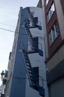 fresque-murale-tintin-bruxelles